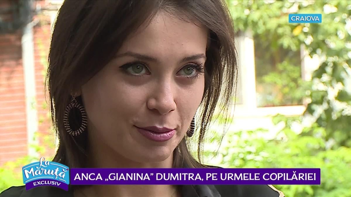 Anca Dumitra anca dumitra, gianina din las fierbiți, are o familie